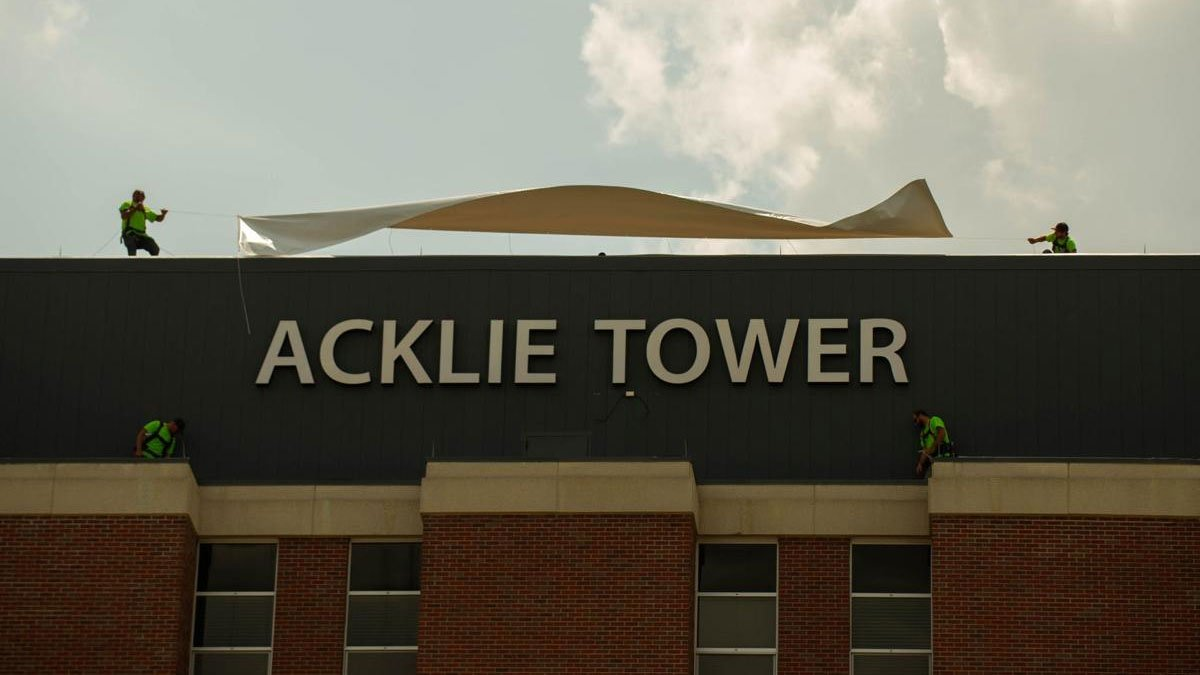 Acklie Tower Unveiling