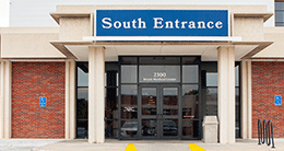bryan west campus south entrance