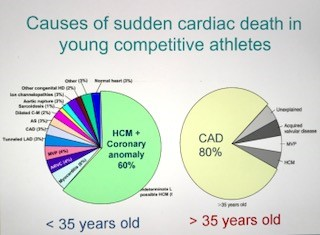 causes of sudden cardiac death in young competitive athletes