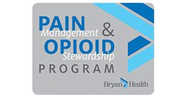pain management and opioid stewardship program logo